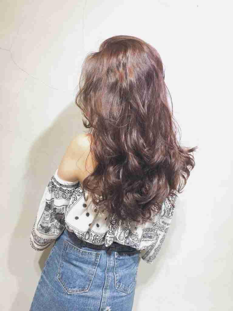 台中長髮燙髮