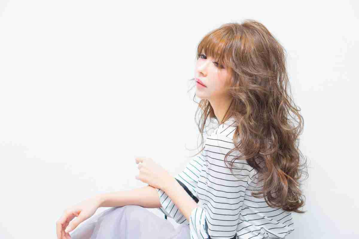 台中燙髮|長髮染燙