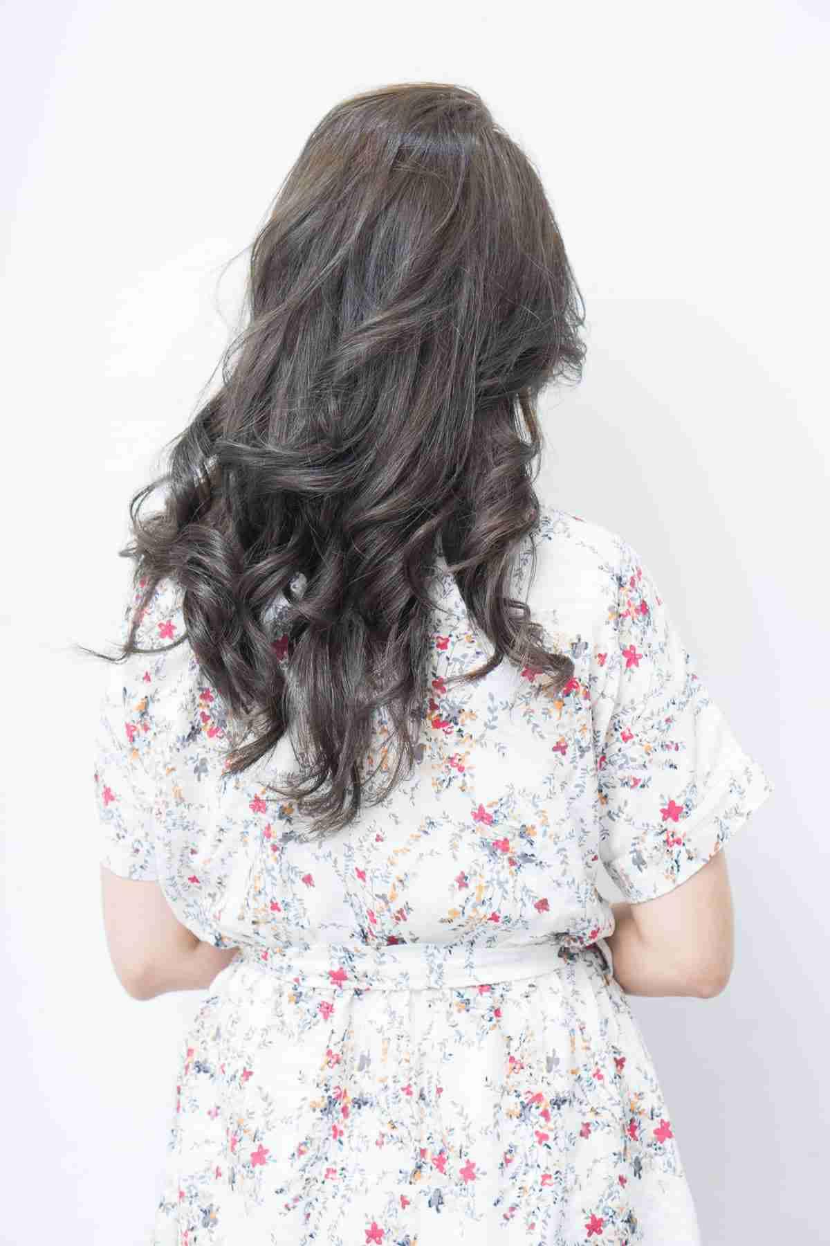 台中染燙長髮