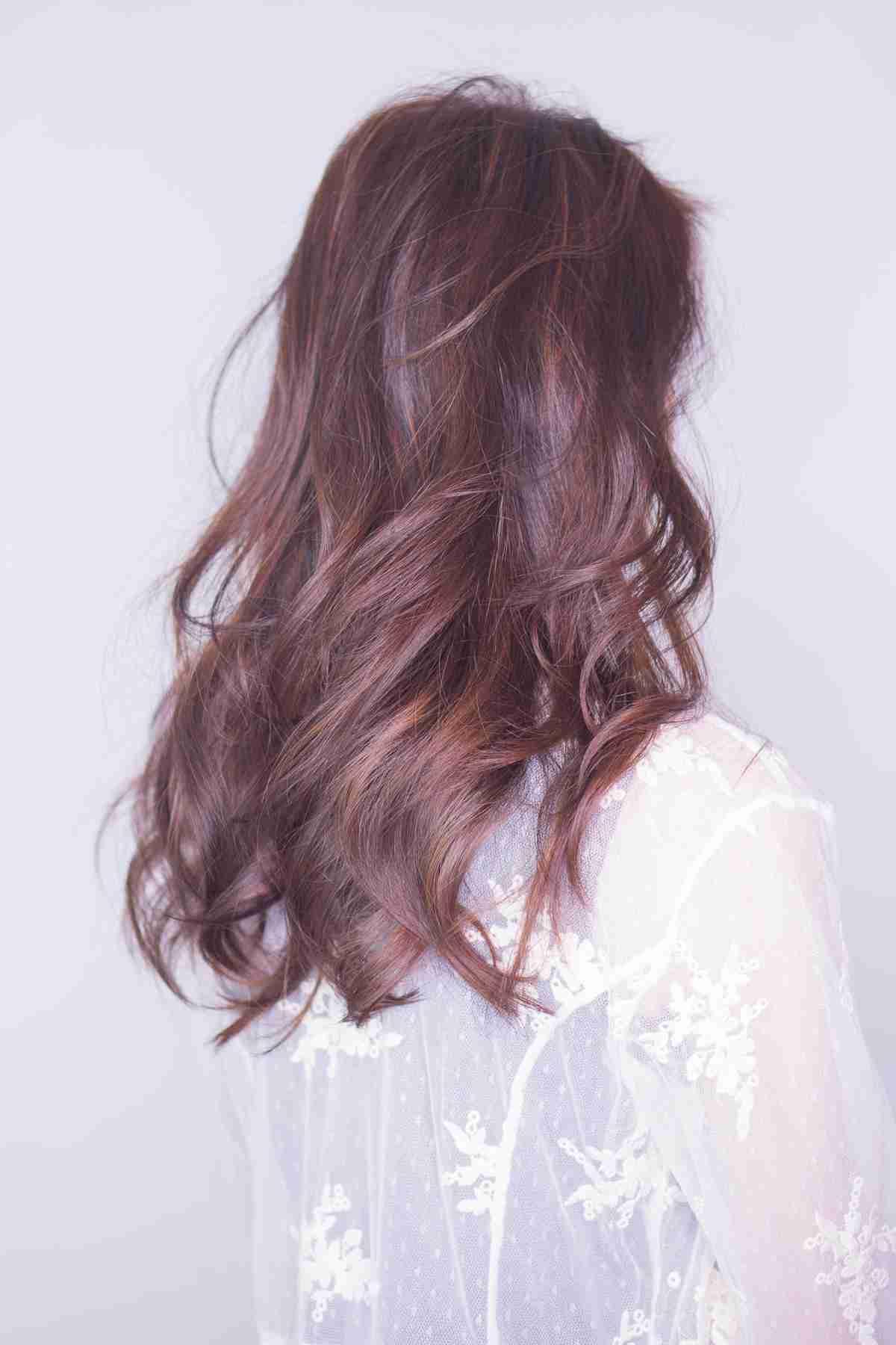 台中棕色染髮