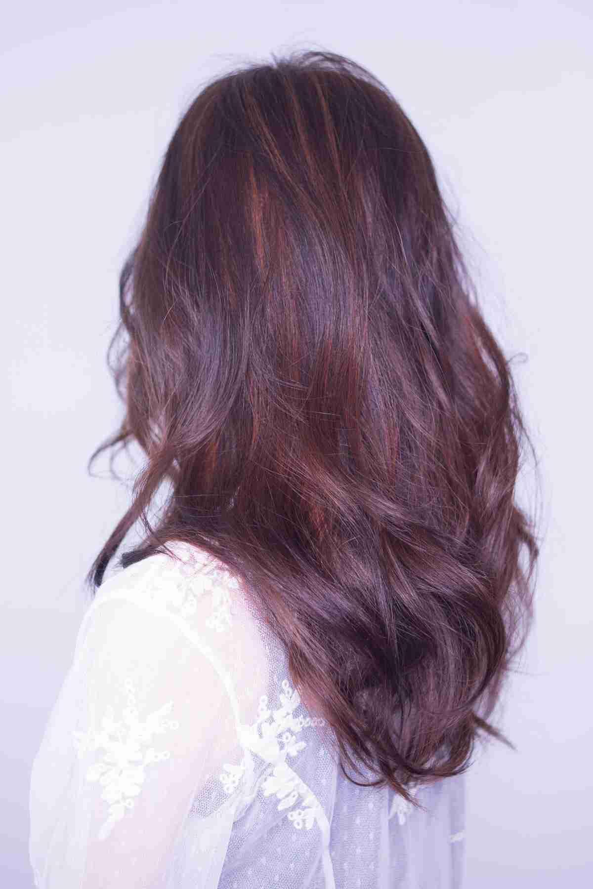 長髮台中染髮