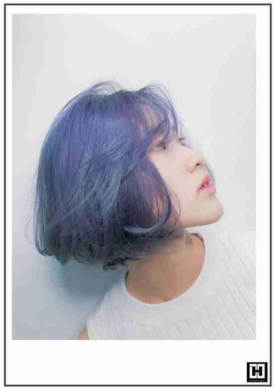 【台中染髮推薦】霧感藍灰色絕佳代言人,低調沉穩colormuse