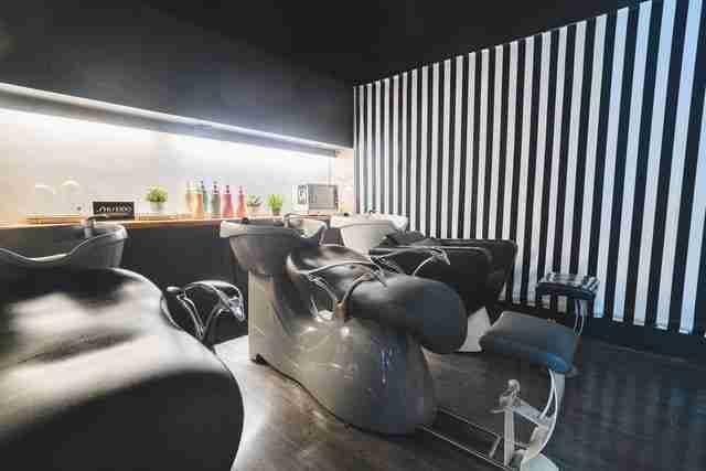 台中髮廊洗髮區