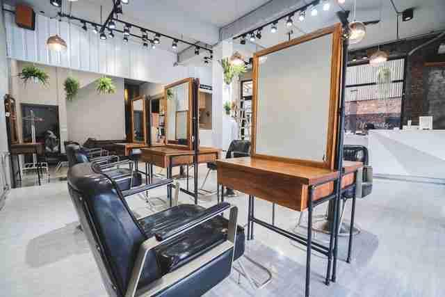 台中髮廊美髮區